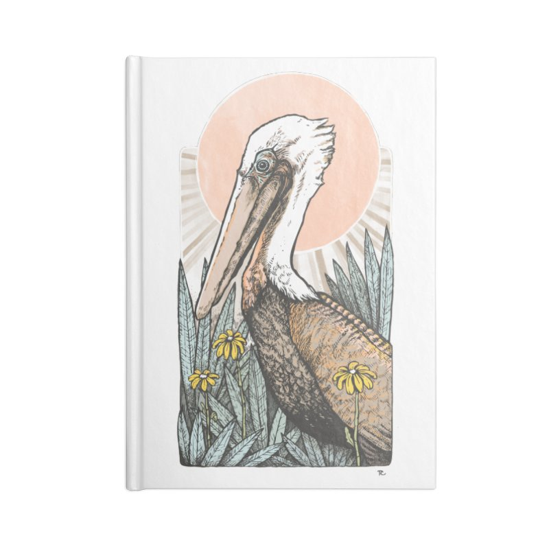 Gerald Among the Flowers Accessories Notebook by Chapman at Sea // surf art by Tash Chapman