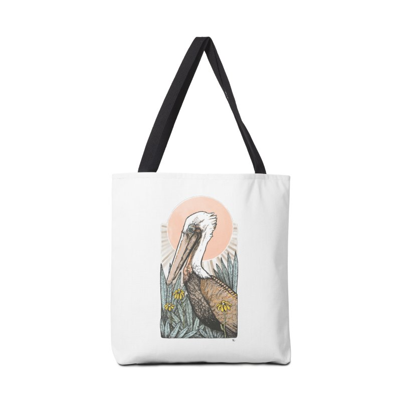 Gerald Among the Flowers Accessories Tote Bag Bag by Chapman at Sea // surf art by Tash Chapman