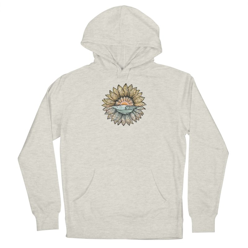 SwellFlower Women's Pullover Hoody by Chapman at Sea // surf art by Tash Chapman