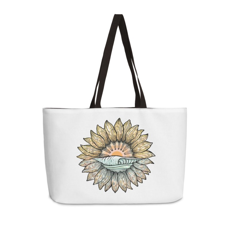 SwellFlower Accessories Bag by Chapman at Sea // surf art by Tash Chapman