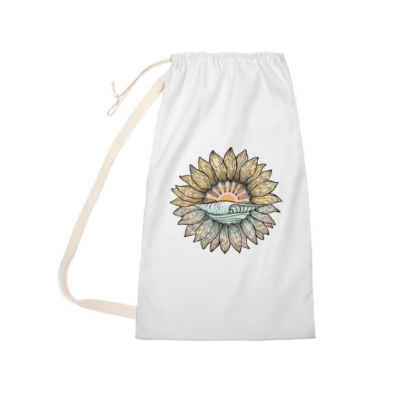 SwellFlower Accessories Laundry Bag Bag by Chapman at Sea // surf art by Tash Chapman