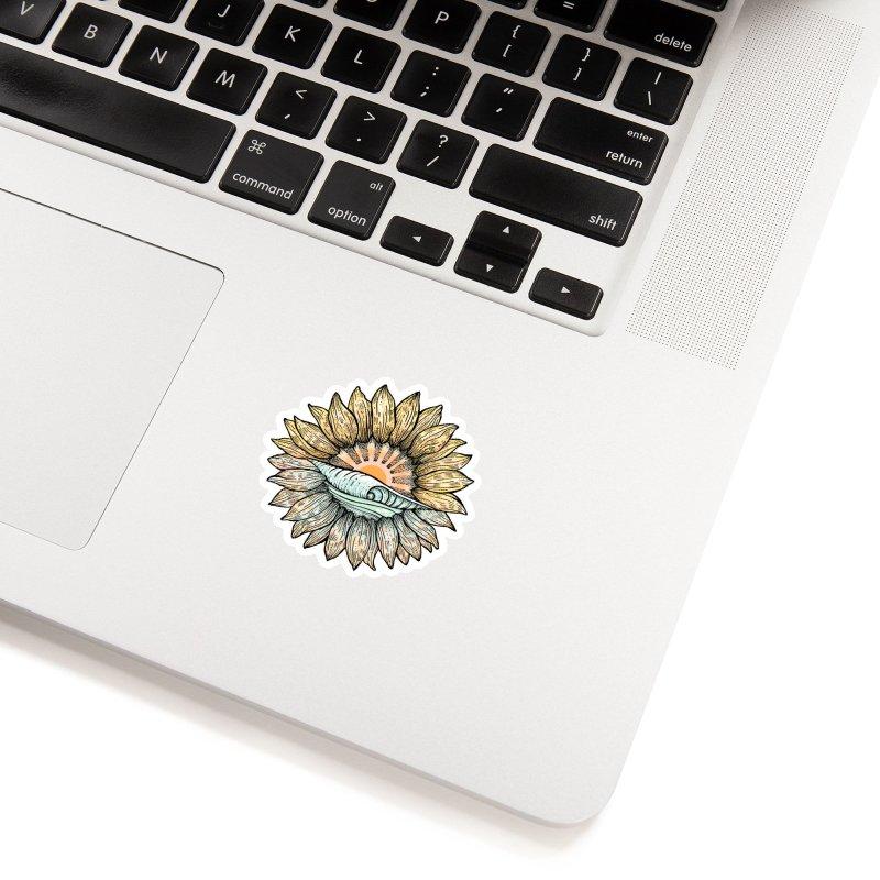 SwellFlower Accessories Sticker by Chapman at Sea // surf art by Tash Chapman
