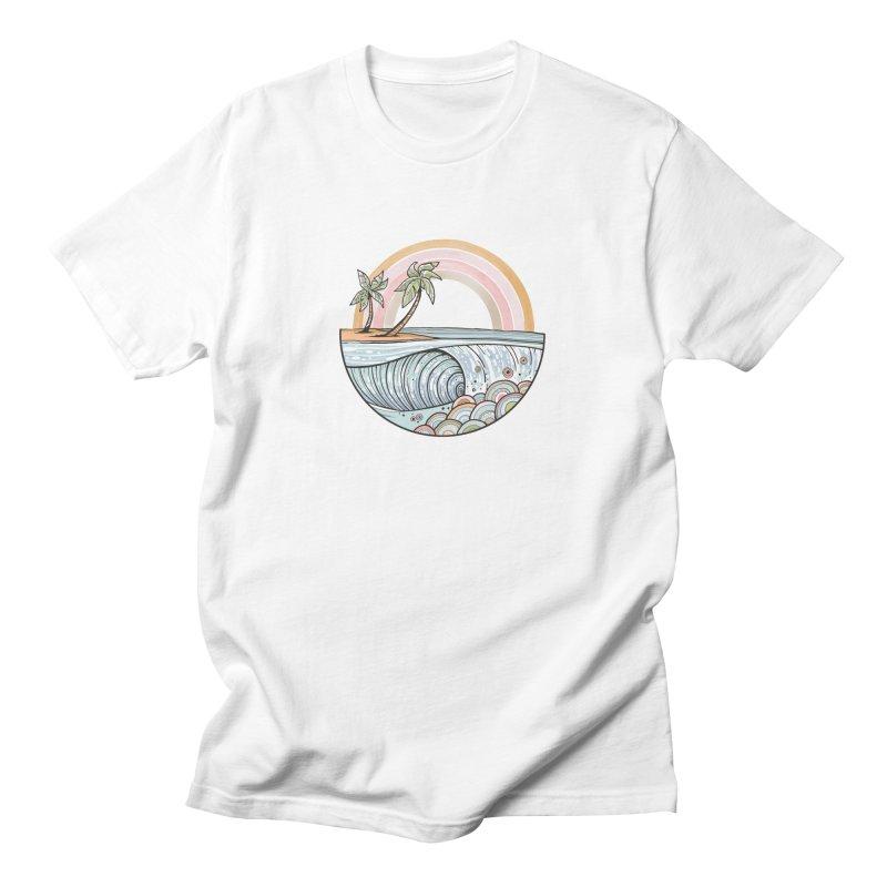 Summer Swell Men's T-Shirt by Chapman at Sea // surf art by Tash Chapman