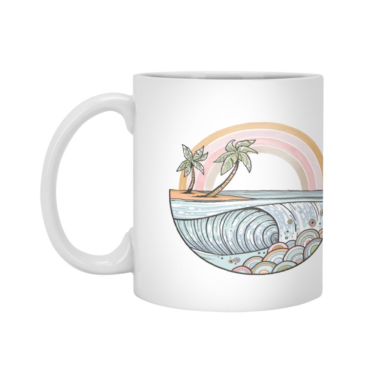 Summer Swell Accessories Mug by Chapman at Sea // surf art by Tash Chapman