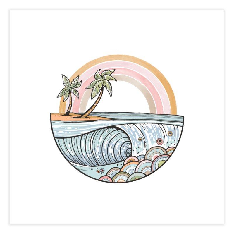 Summer Swell Home Fine Art Print by Chapman at Sea // surf art by Tash Chapman
