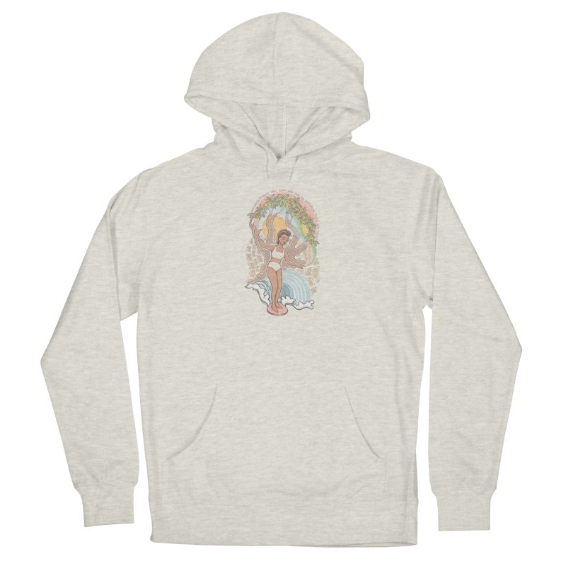 Nature's Peace Women's Pullover Hoody by Chapman at Sea // surf art by Tash Chapman