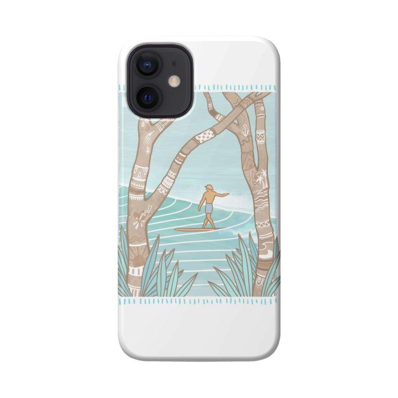 Secret Spot Accessories Phone Case by Chapman at Sea // surf art by Tash Chapman