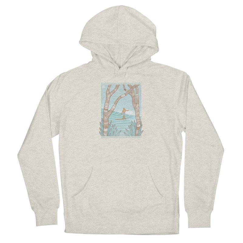 Secret Spot Men's Pullover Hoody by Chapman at Sea // surf art by Tash Chapman