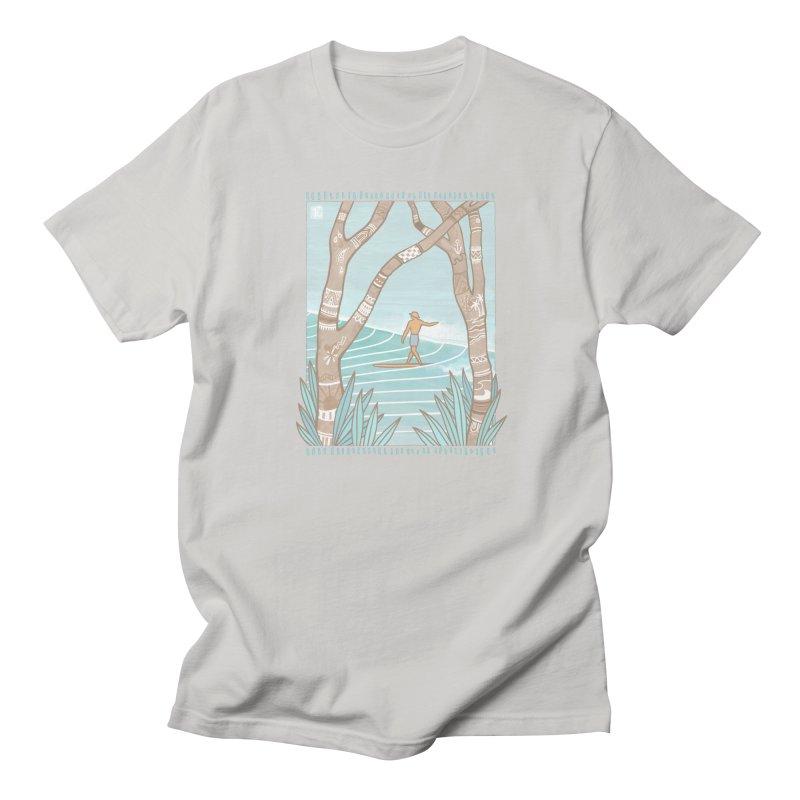 Secret Spot Men's T-Shirt by Chapman at Sea // surf art by Tash Chapman