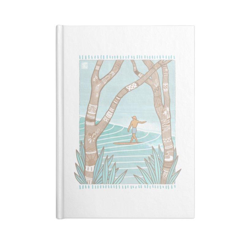 Secret Spot Accessories Notebook by Chapman at Sea // surf art by Tash Chapman