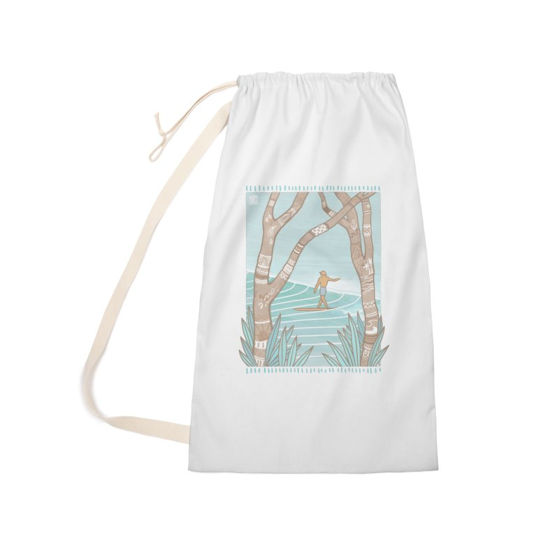 Secret Spot Accessories Bag by Chapman at Sea // surf art by Tash Chapman