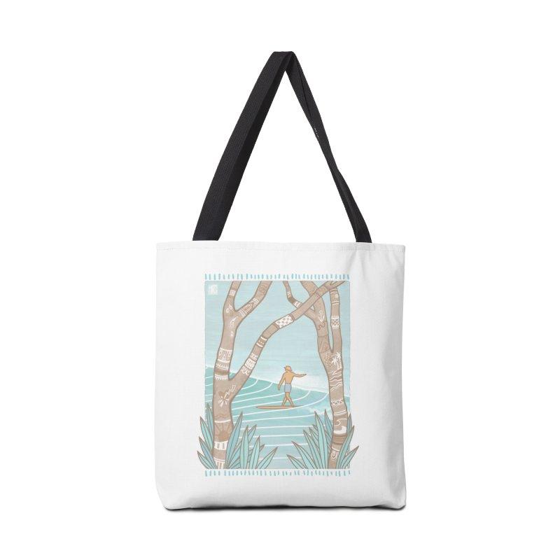 Secret Spot Accessories Bag by Chapman at Sea // surf art by Tash Chapman