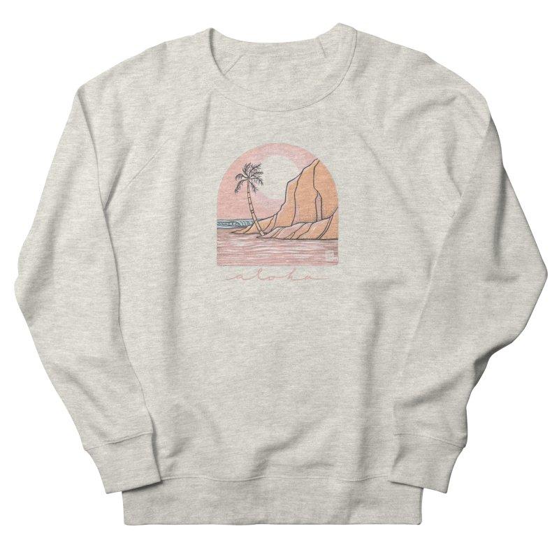 Moon Over Aloha Men's Sweatshirt by Chapman at Sea // surf art by Tash Chapman