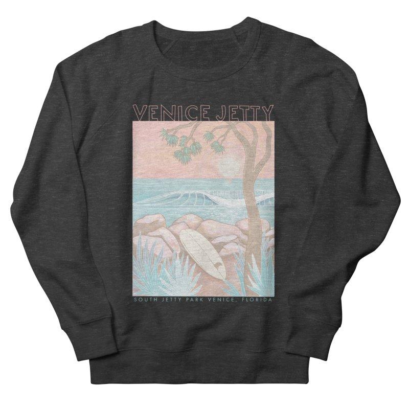 Venice Jetty Women's Sweatshirt by Chapman at Sea // surf art by Tash Chapman