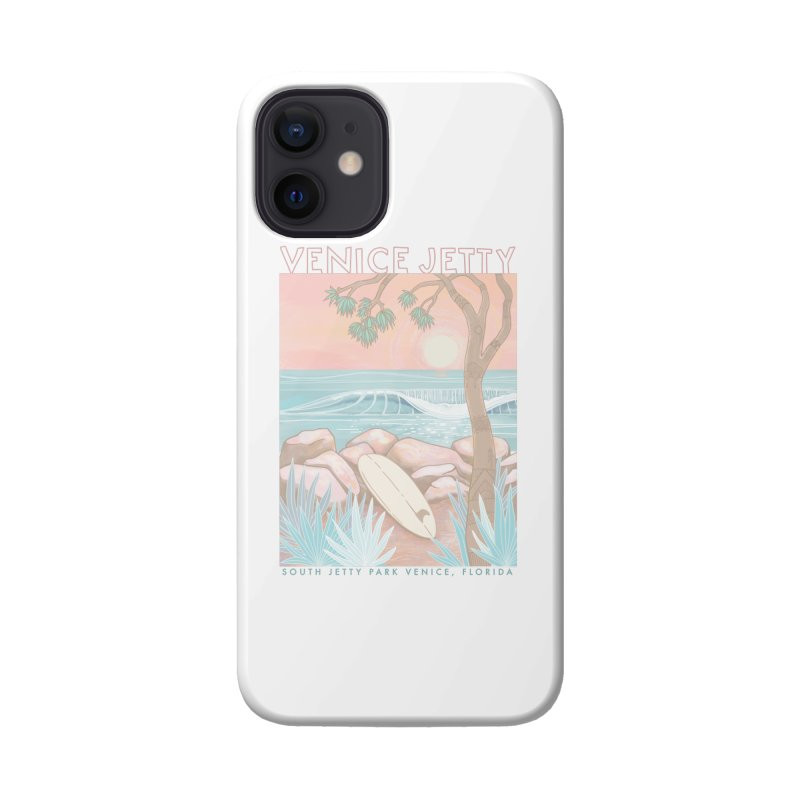 Venice Jetty Accessories Phone Case by Chapman at Sea // surf art by Tash Chapman