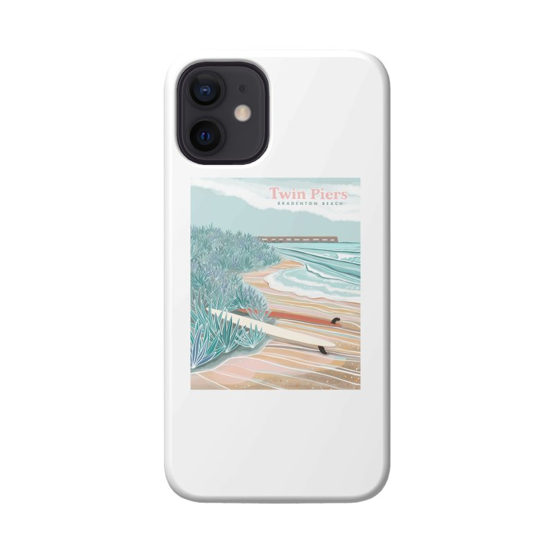 Twin Piers Accessories Phone Case by Chapman at Sea // surf art by Tash Chapman