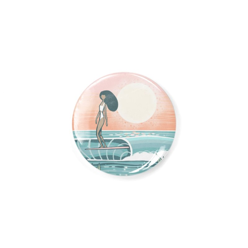 The Islander Accessories Button by Chapman at Sea // surf art by Tash Chapman