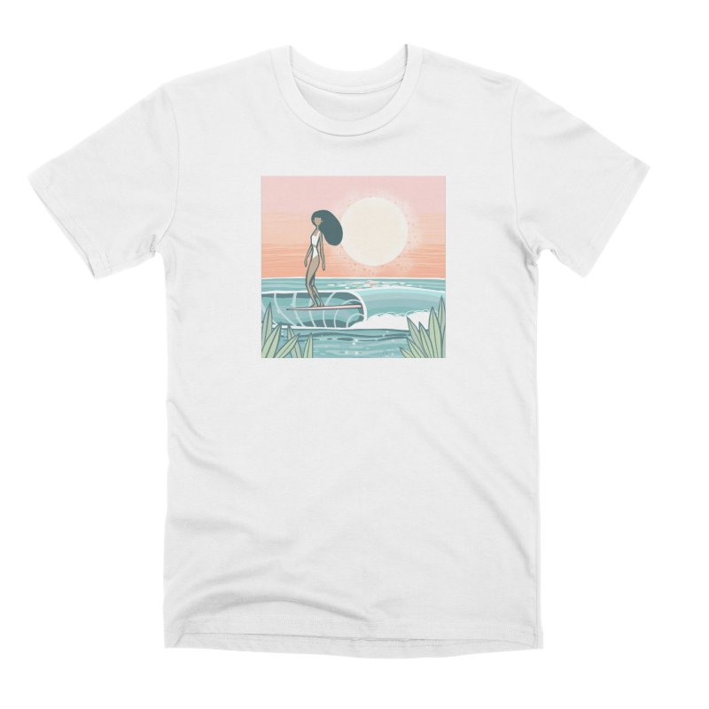 The Islander Men's T-Shirt by Chapman at Sea // surf art by Tash Chapman