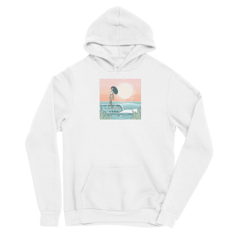 The Islander Men's Pullover Hoody by Chapman at Sea // surf art by Tash Chapman