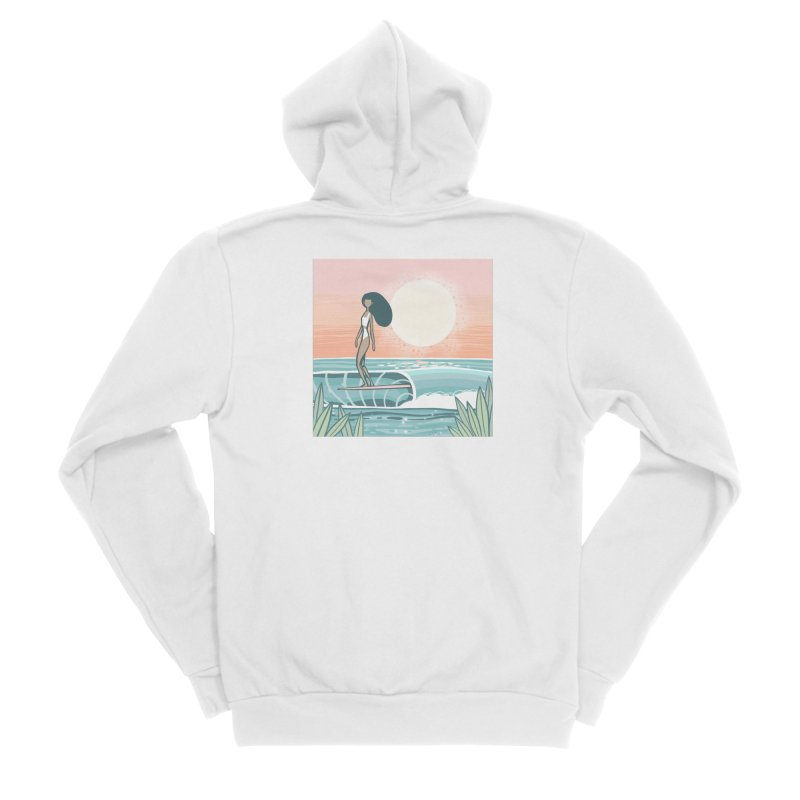 The Islander Men's Zip-Up Hoody by Chapman at Sea // surf art by Tash Chapman
