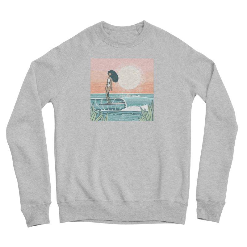 The Islander Women's Sweatshirt by Chapman at Sea // surf art by Tash Chapman