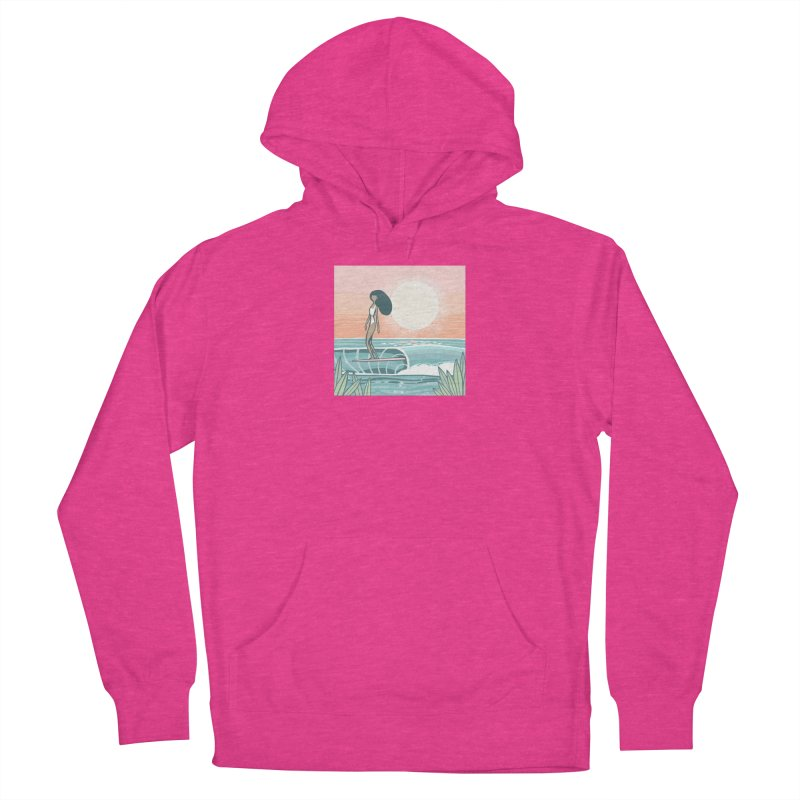 The Islander Women's Pullover Hoody by Chapman at Sea // surf art by Tash Chapman