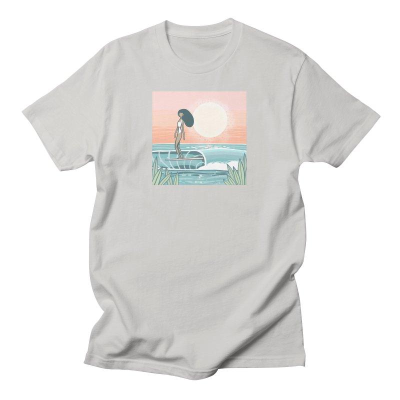 The Islander Men's T-Shirt by Chapman at Sea // surf art by Tash Chapman