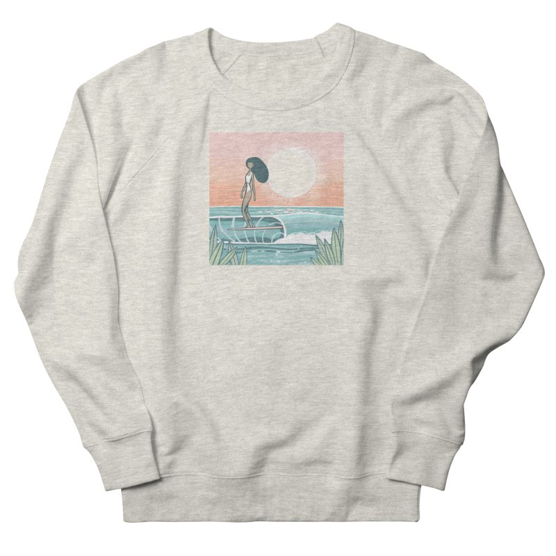 The Islander Men's Sweatshirt by Chapman at Sea // surf art by Tash Chapman