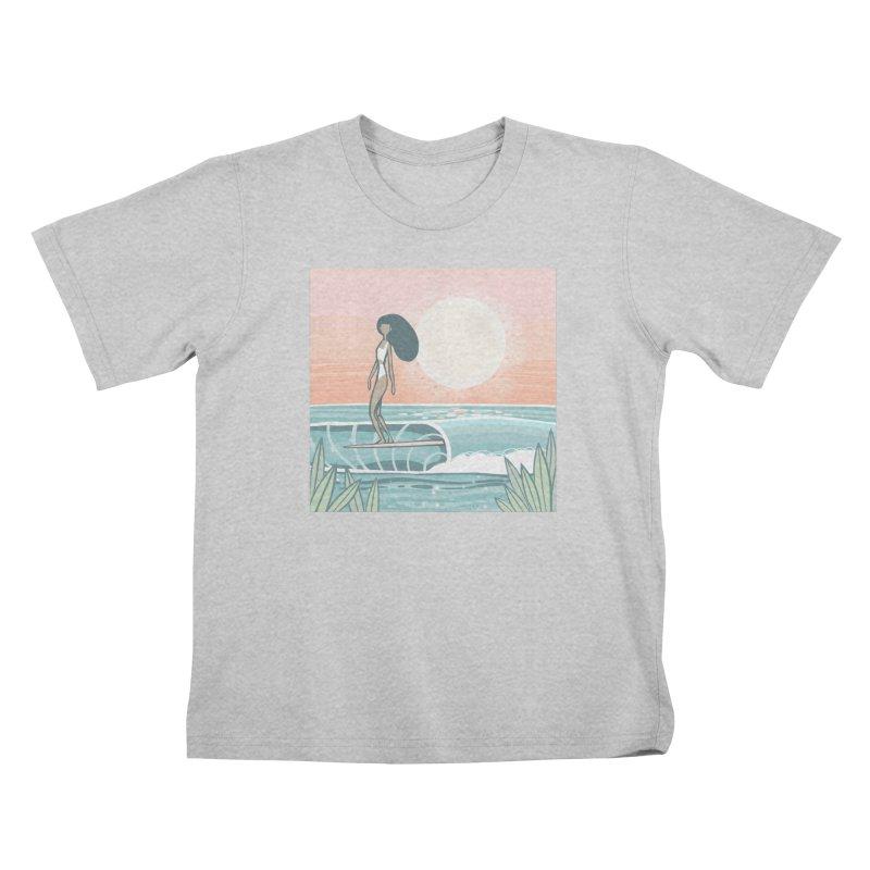 The Islander Kids T-Shirt by Chapman at Sea // surf art by Tash Chapman