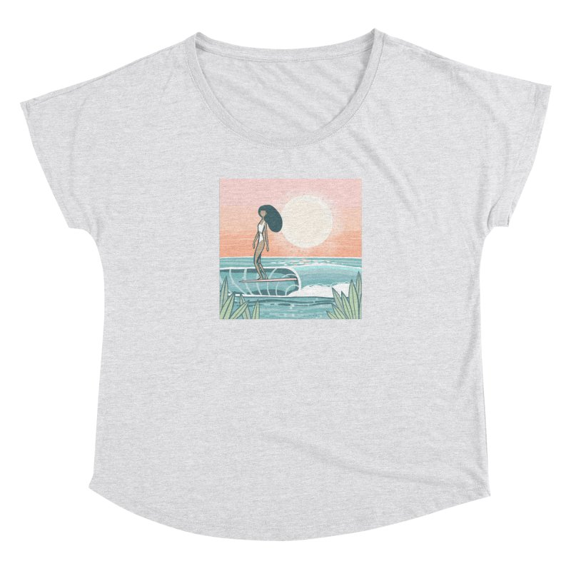 Women's None by Chapman at Sea // surf art by Tash Chapman