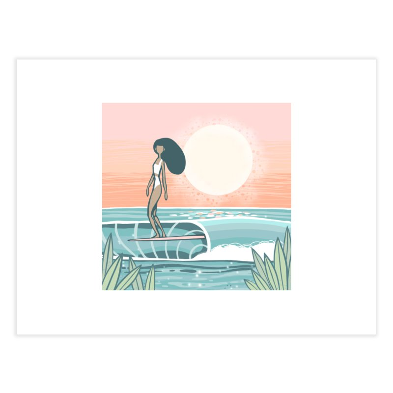 The Islander Home Fine Art Print by Chapman at Sea // surf art by Tash Chapman