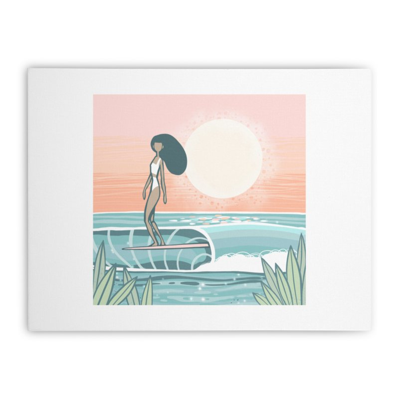 The Islander Home Stretched Canvas by Chapman at Sea // surf art by Tash Chapman