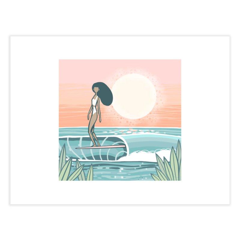 The Islander Home Fine Art Print by Chapman at Sea // surf art by Tash Chapman