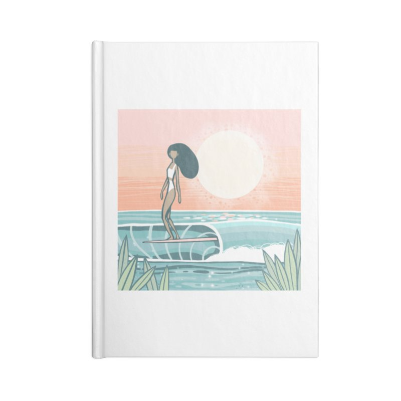The Islander Accessories Notebook by Chapman at Sea // surf art by Tash Chapman