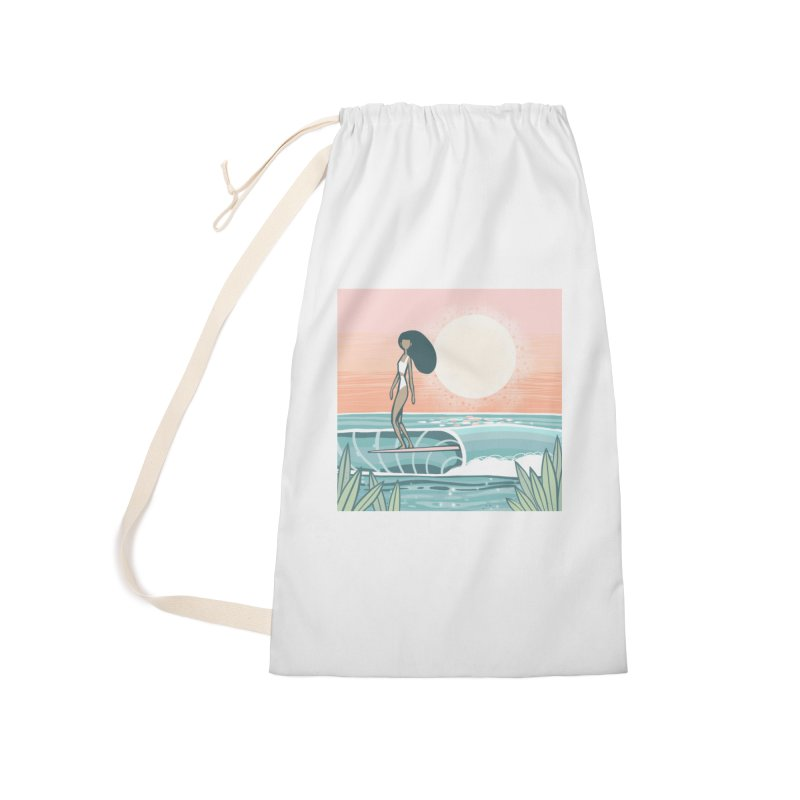 The Islander Accessories Bag by Chapman at Sea // surf art by Tash Chapman