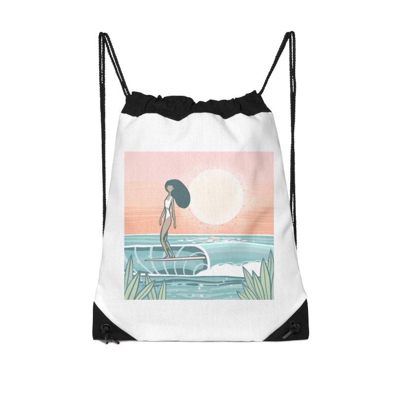 The Islander Accessories Bag by Chapman at Sea // surf art by Tash Chapman