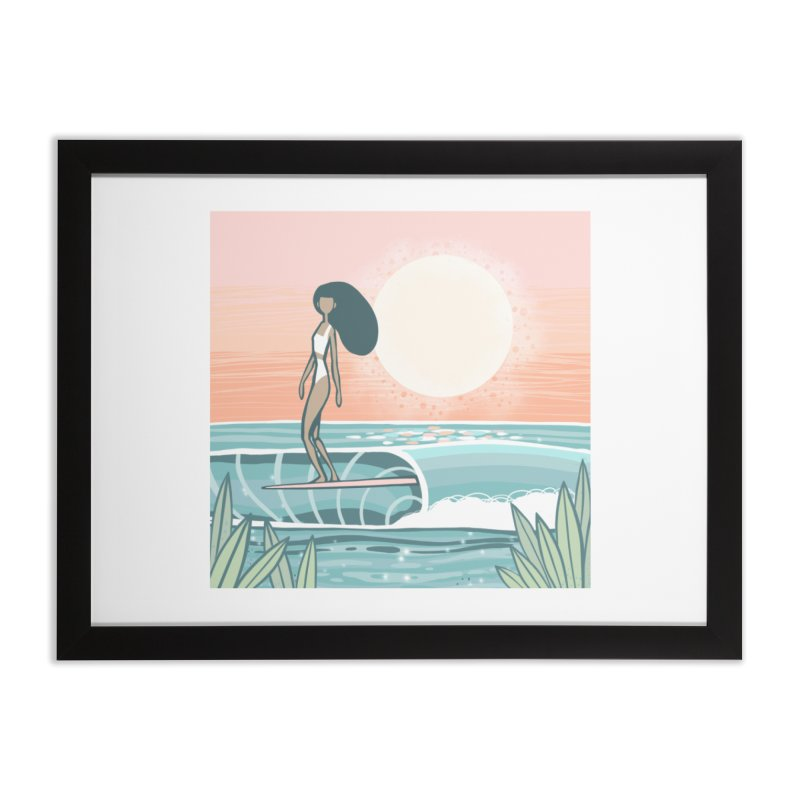 The Islander Home Framed Fine Art Print by Chapman at Sea // surf art by Tash Chapman