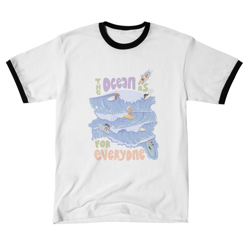 Kindness is Cool Women's T-Shirt by Chapman at Sea // surf art by Tash Chapman