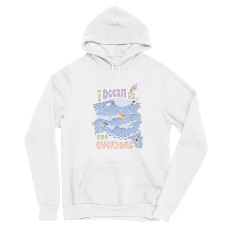 Kindness is Cool Women's Pullover Hoody by Chapman at Sea // surf art by Tash Chapman