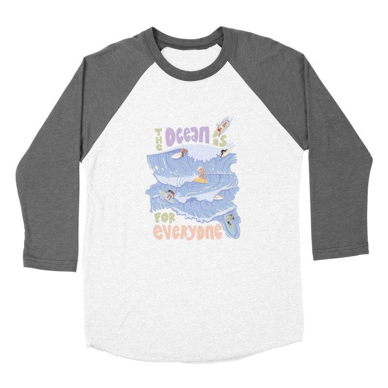 Kindness is Cool Women's Longsleeve T-Shirt by Chapman at Sea // surf art by Tash Chapman
