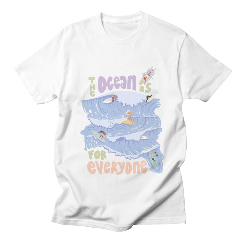 Kindness is Cool Men's T-Shirt by Chapman at Sea // surf art by Tash Chapman
