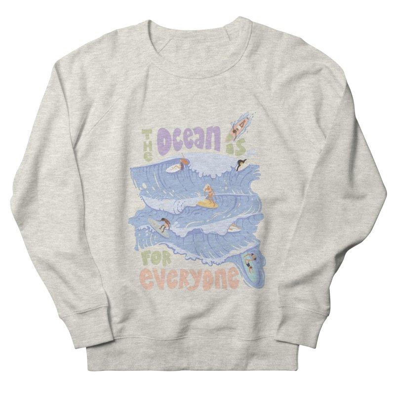 Kindness is Cool Women's Sweatshirt by Chapman at Sea // surf art by Tash Chapman