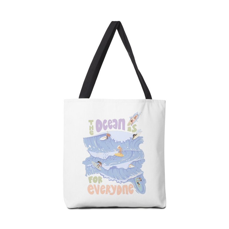 Kindness is Cool Accessories Bag by Chapman at Sea // surf art by Tash Chapman