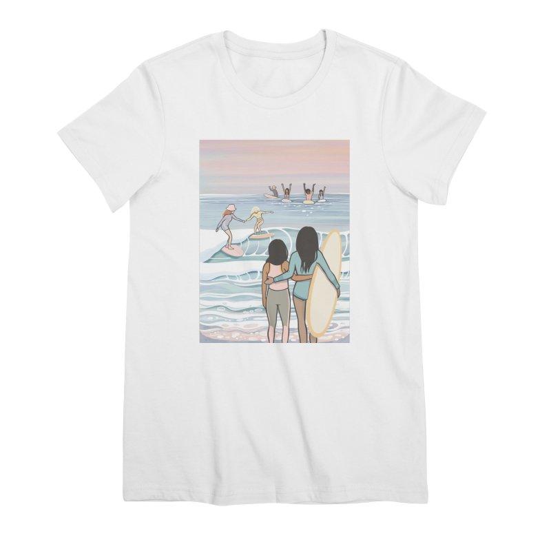 Women's None by Chapman at Sea // surf art by Tash Chapman