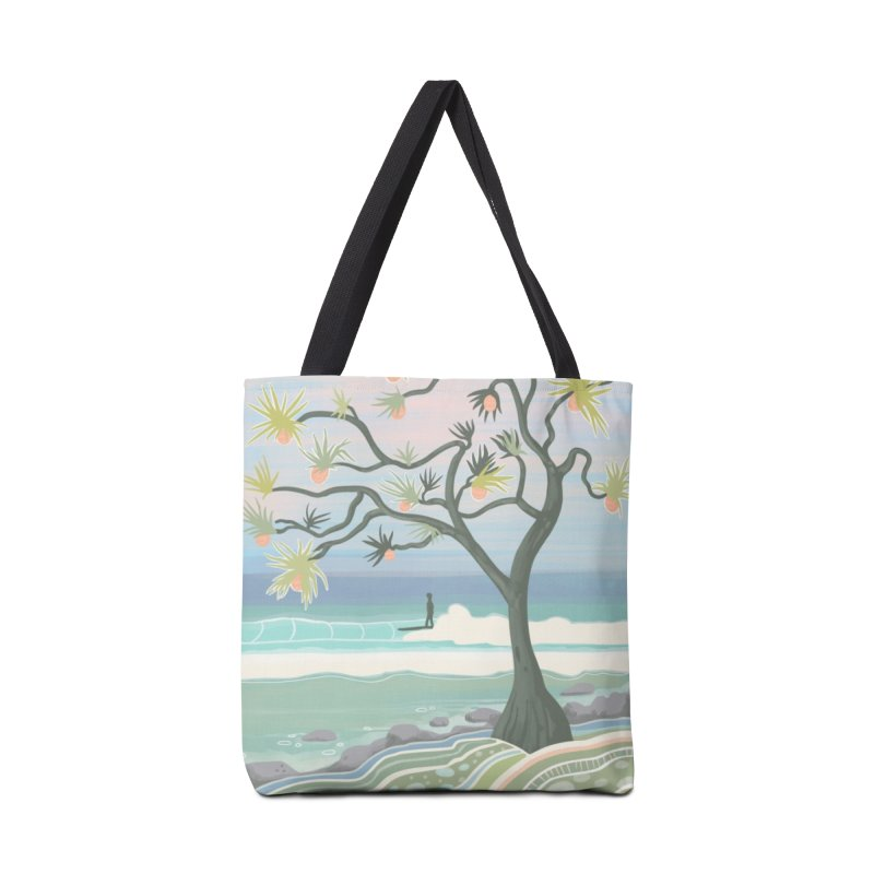 She and a Tree Accessories Bag by Chapman at Sea // surf art by Tash Chapman