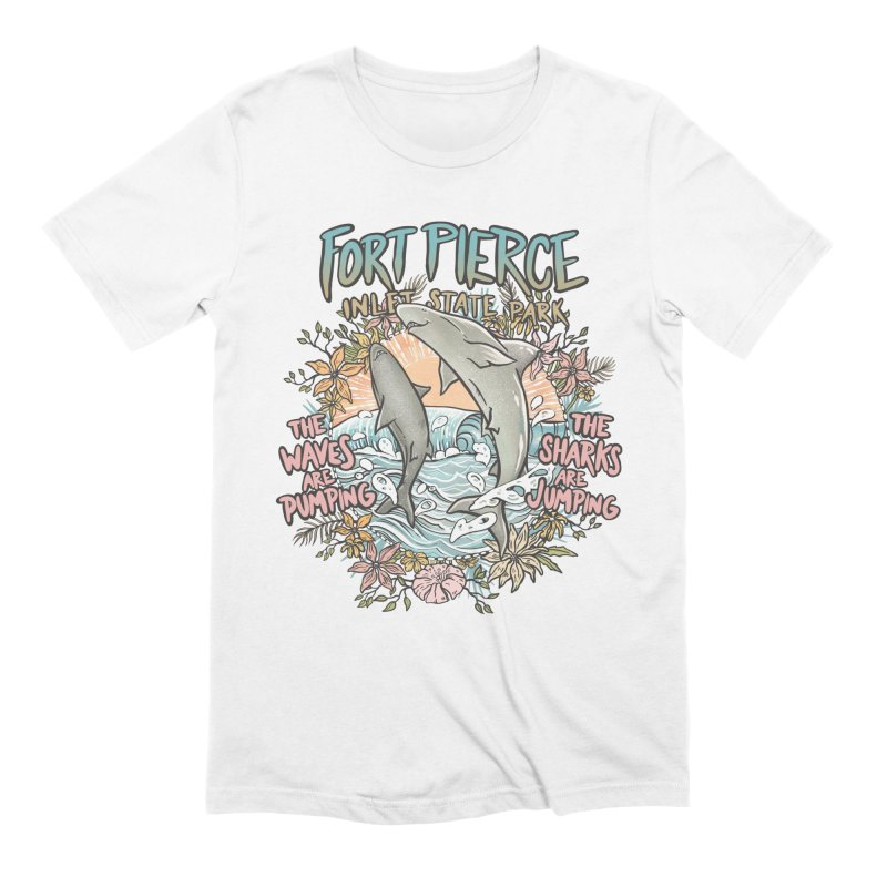 Spinner City Men's T-Shirt by Chapman at Sea // surf art by Tash Chapman