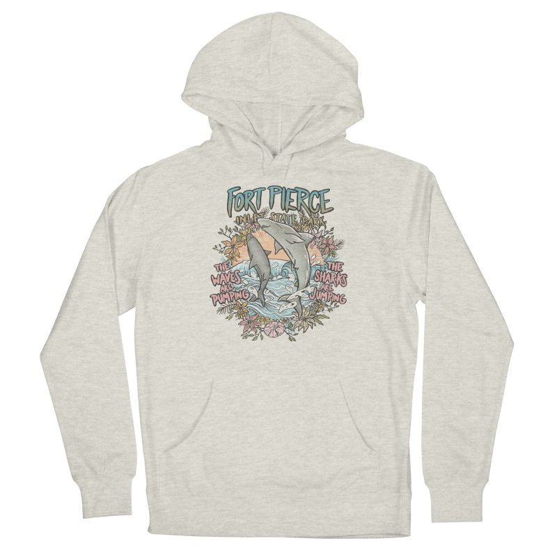 Spinner City Men's French Terry Pullover Hoody by Chapman at Sea // surf art by Tash Chapman