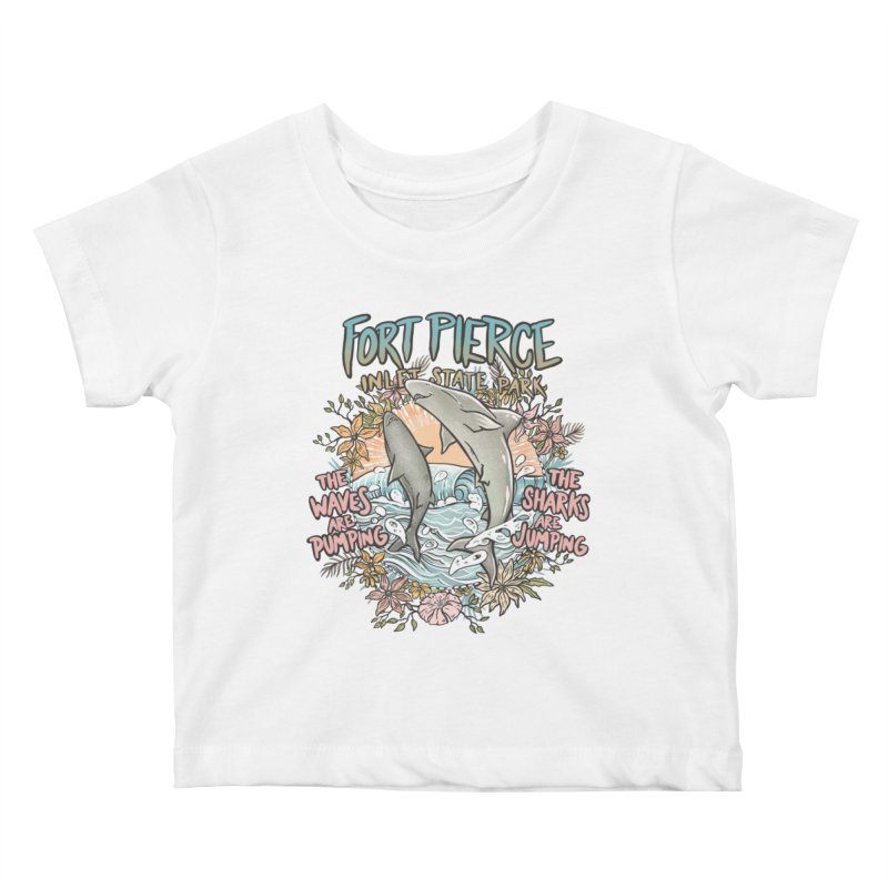 Spinner City Kids Baby T-Shirt by Chapman at Sea // surf art by Tash Chapman
