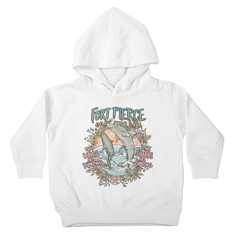 Spinner City Kids Toddler Pullover Hoody by Chapman at Sea // surf art by Tash Chapman
