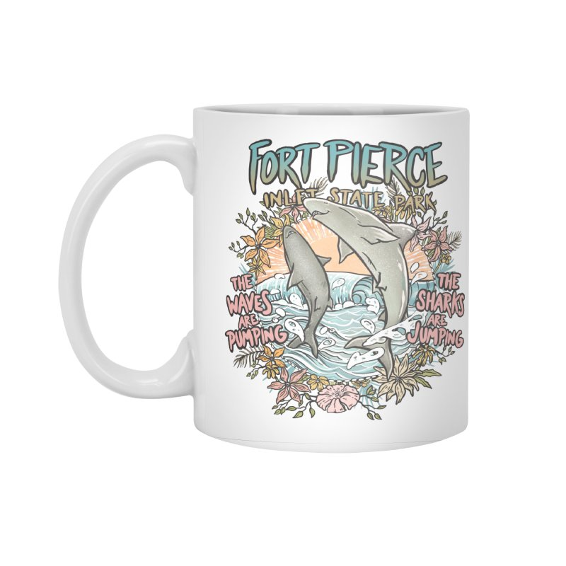Spinner City Accessories Standard Mug by Chapman at Sea // surf art by Tash Chapman